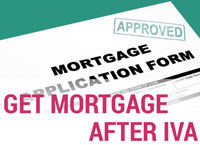 Get mortgage after IVA
