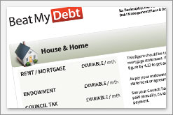 Bankruptcy living expenses guide. Living expenses allowances.