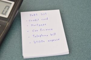 Which Debts are included in a Debt Management Plan?