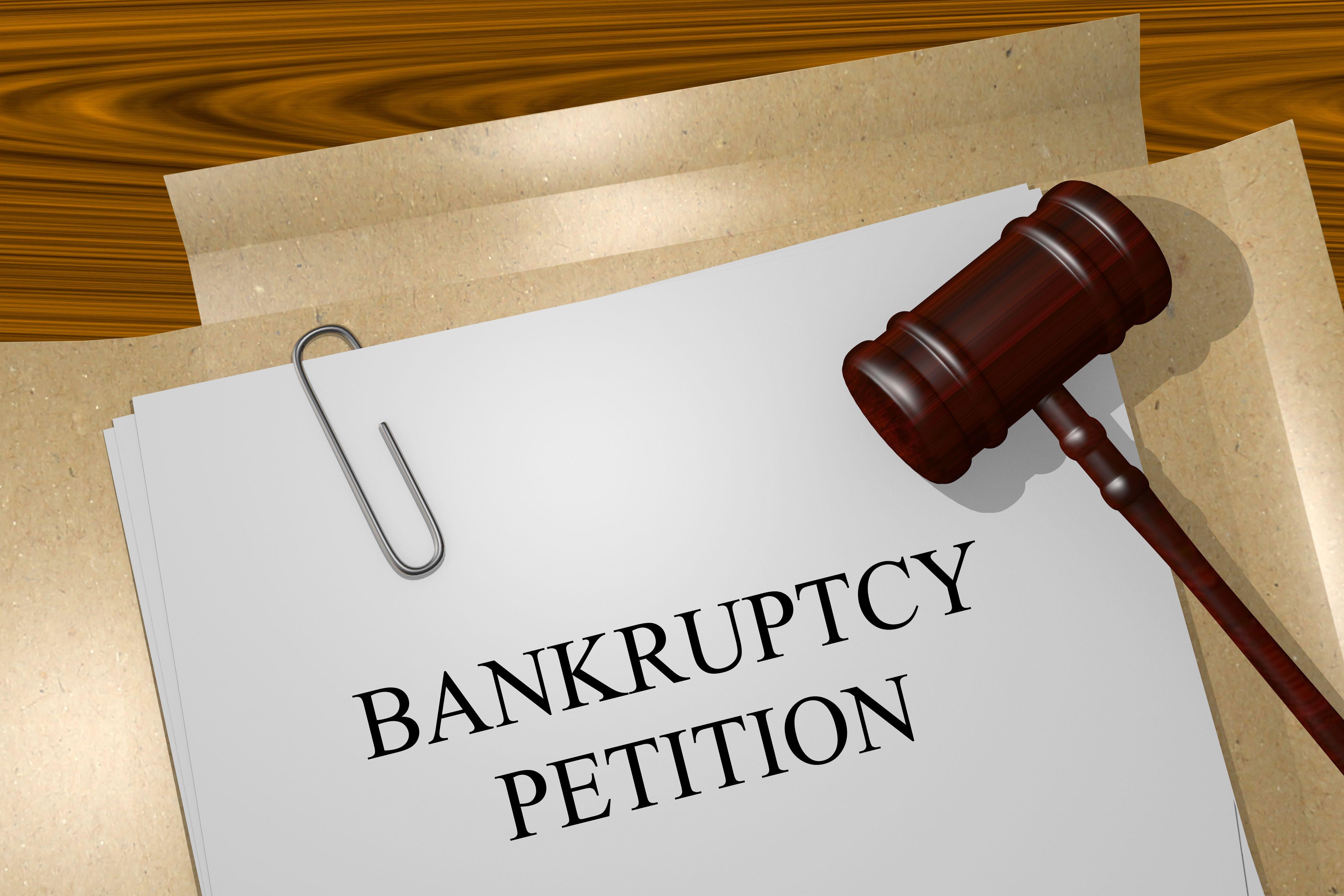 Who can make you Bankrupt?