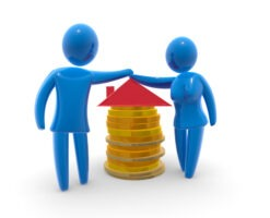 Jointly owned house and Bankruptcy