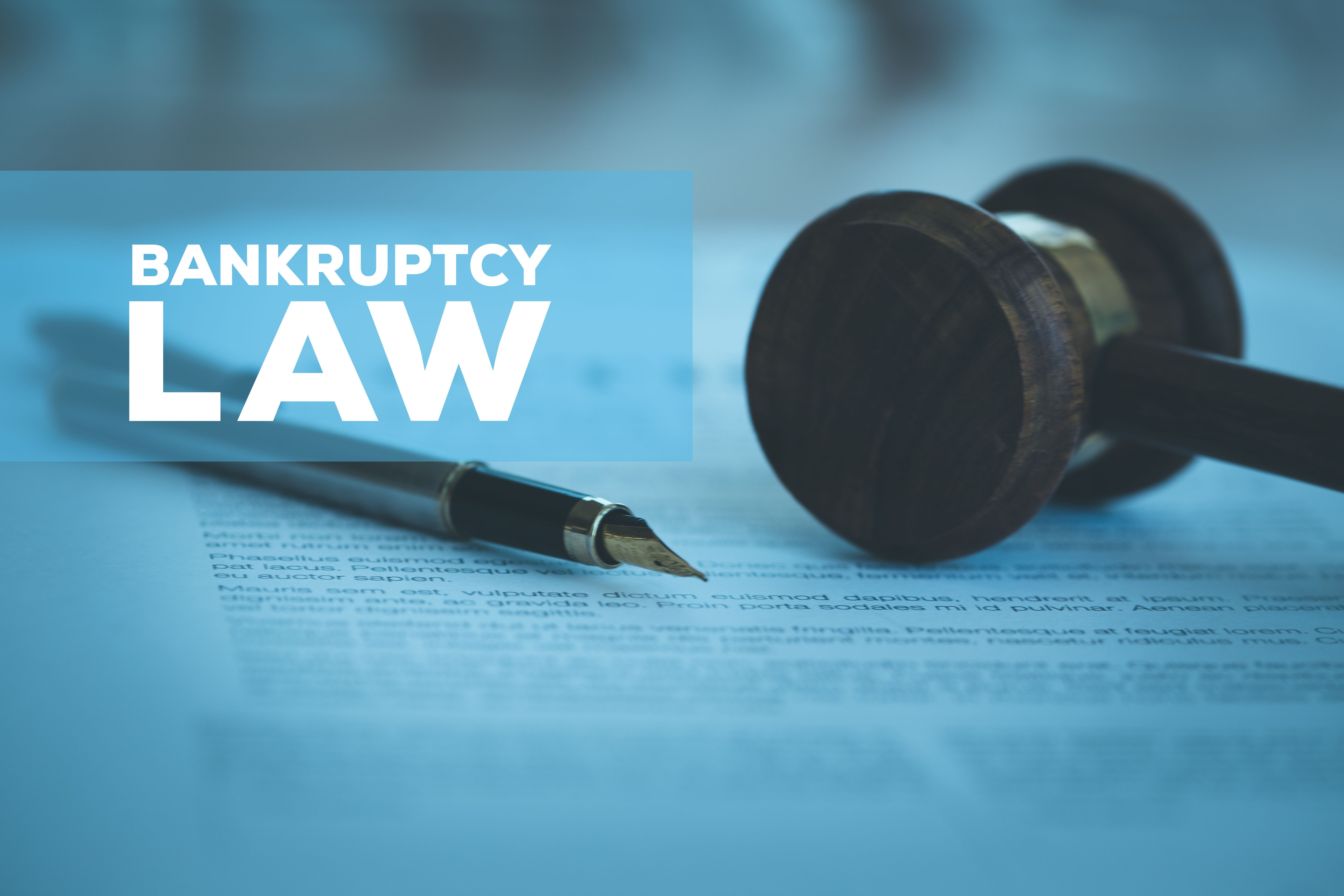 The Law Governing Bankruptcy
