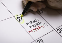 What happens to overtime or extra income in a DMP